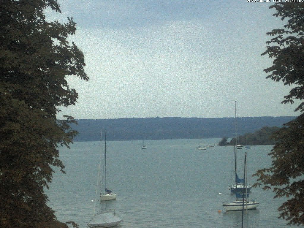 Webcam am Ammersee der Windinfo.eu